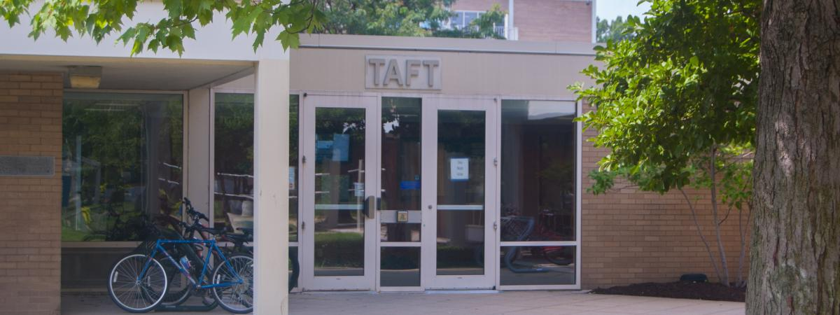 Taft House entrance